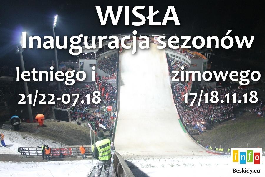 Inauguracja sezonu letniego i zimowego w Wiśle!