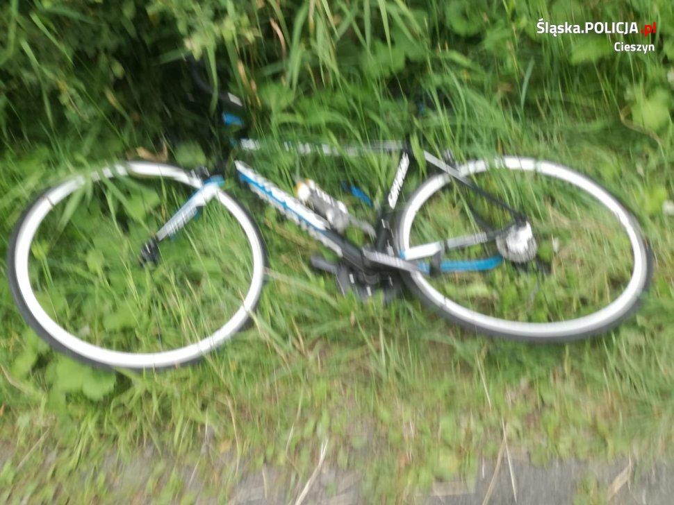 Tragiczny wypadek rowerzysty