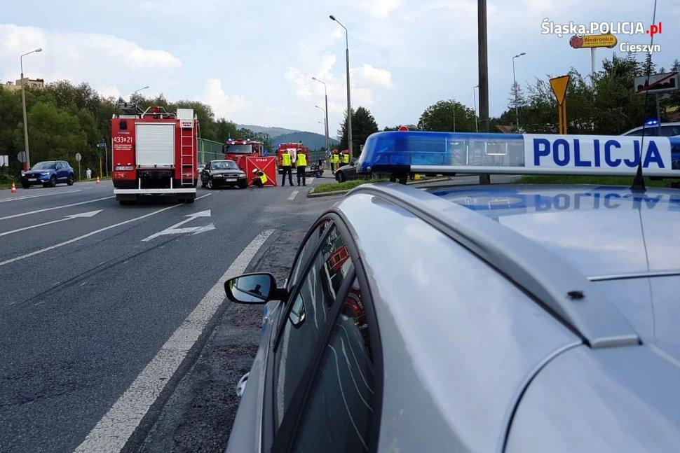 Tragiczny wypadek z udziałem motocyklisty