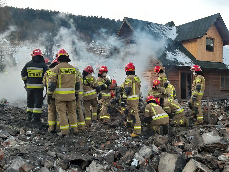 Tragiczny bilans wybuchu gazu w Szczyrku