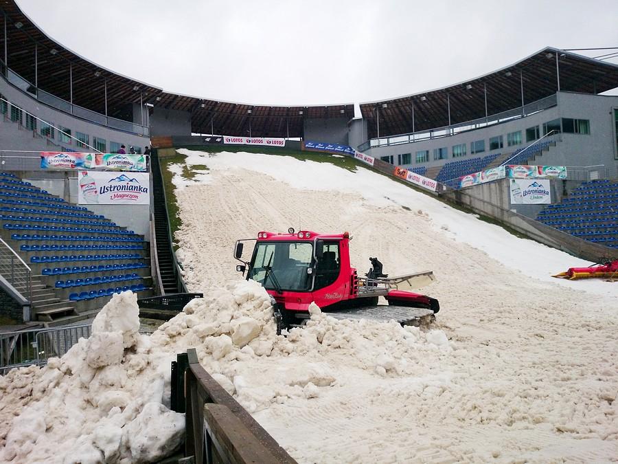 Co ze śniegiem na Puchar Świata ? oraz o inauguracji imprezy