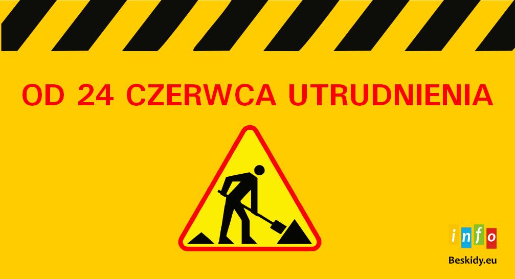 Od 24 czerwca ulica Czarne zamknięta