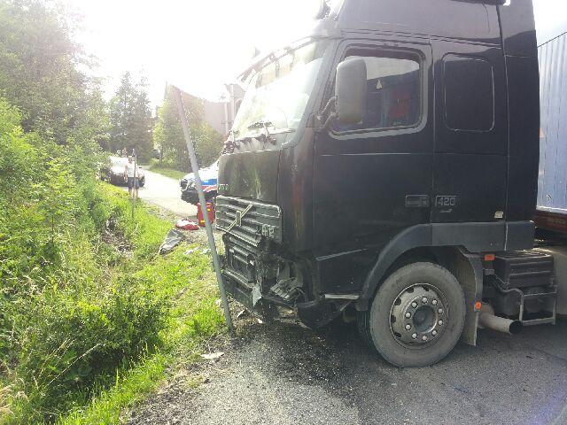 Groźny wypadek w Ustroniu