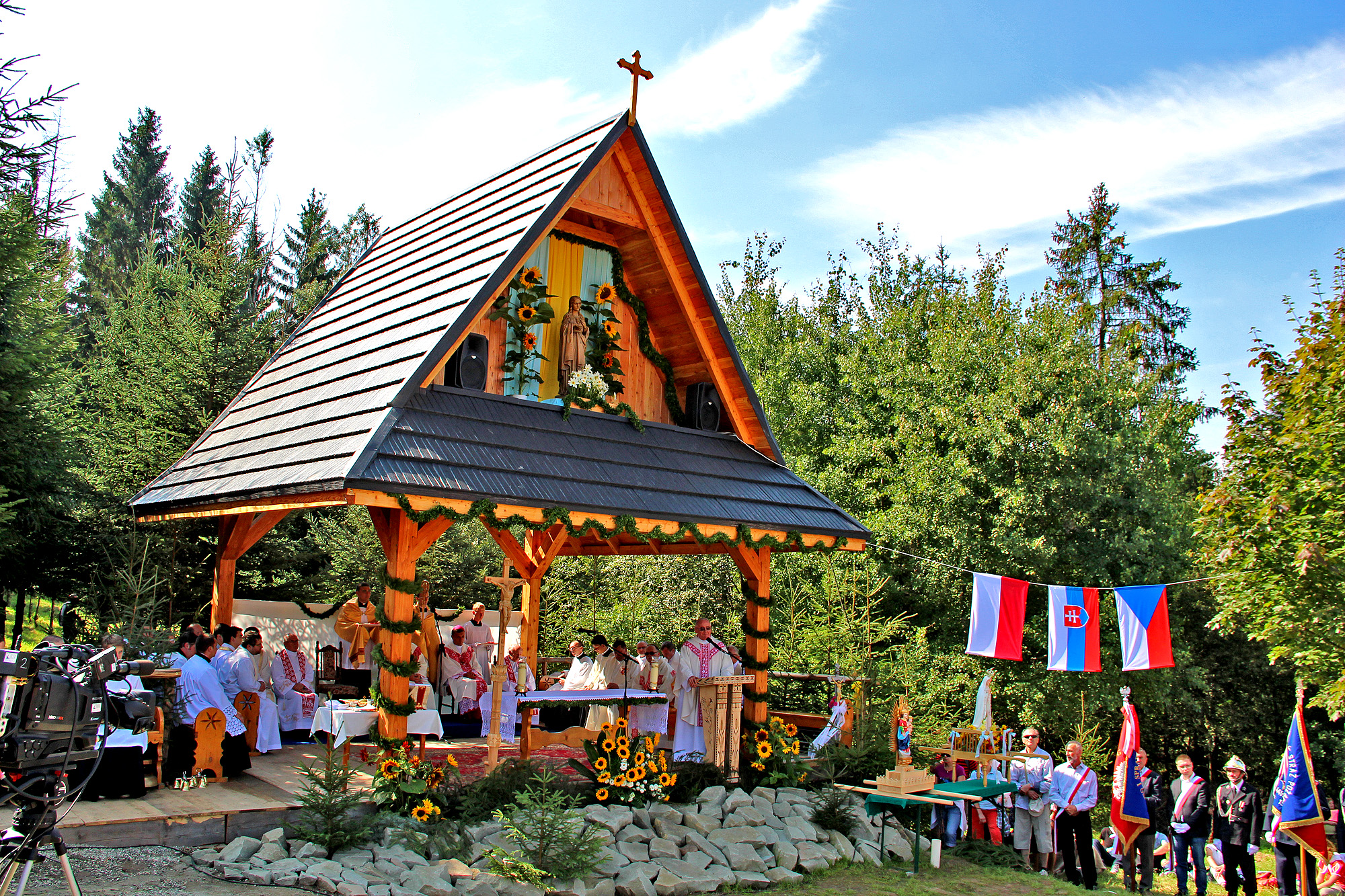 Msza Święta na Trójstyku