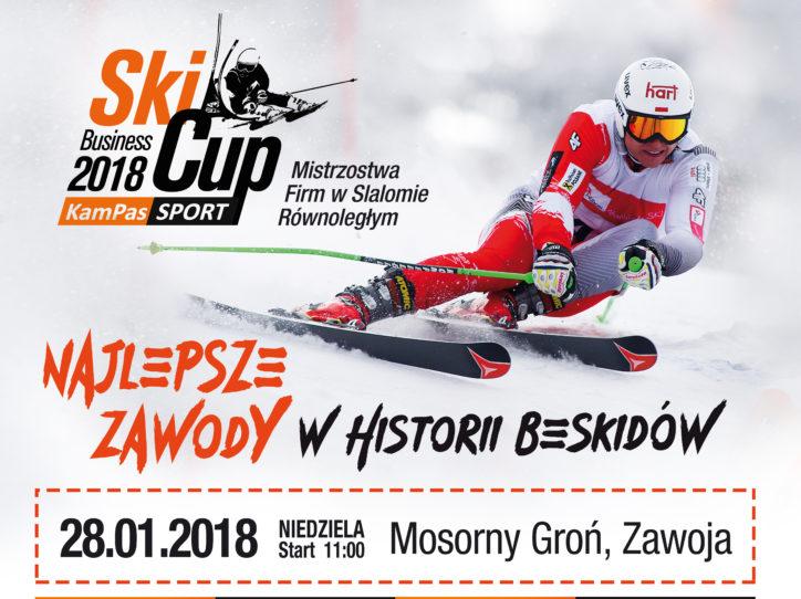 Zawody narciarskie KamPas Sport Business Ski Cup 2018 już niebawem!