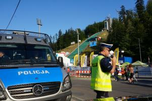 FIS Grand Prix Wisła 2016 – organizacja ruchu