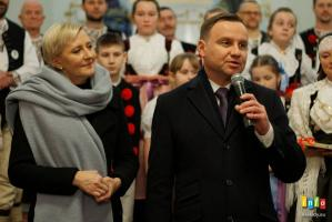 Pierwsza para na koncercie w Wiśle