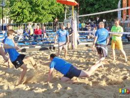 Mecz Wisła - Reszta świata w siatkówce plażowej