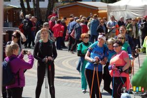 Pierwszomajowy Marsz Nordic Walking