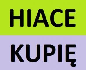 Skup TOYOTA HIACE