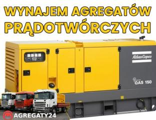 Wynajem agregatów prądotwórczych ,Cała Polska